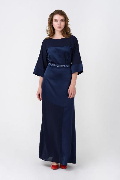 Платье Evdress S синий