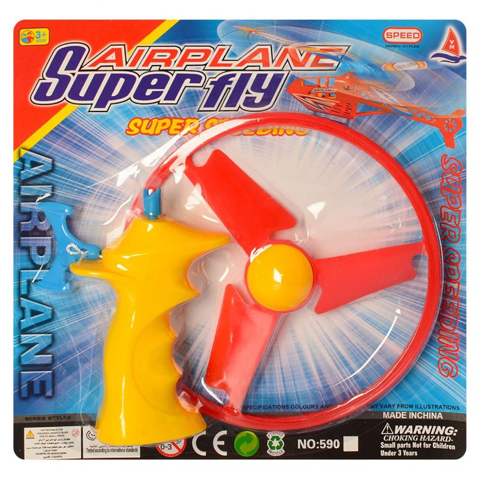 Игра Вертушка  593MR летает (Желтый с оранжевым )