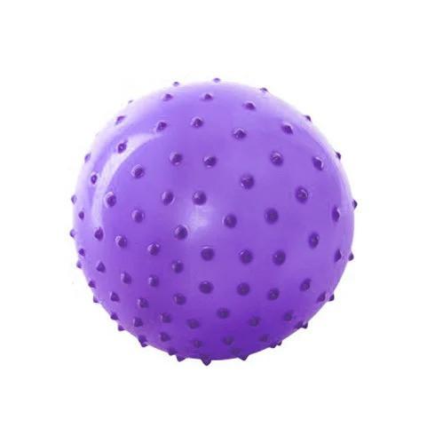 Мяч массажный MS 0023 8 дюймов (Фиолетовый)