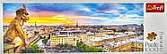 Пазли Панорама Вид з собору Нотр-Дам де Парі  (1000 елементів) Trefl, фото 2