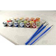 Картина по номерах Лілові фарби Парижу 40х50, фото 4