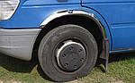 Накладки на арки (4 шт, нерж) для Mercedes Sprinter 1995-2006 рр.