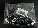 Эмблема Ford (самоклейка) Б-качество, 95мм на 38мм для Ford B-Max 2012↗ гг.