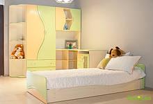 Детская Эколь Лак ІІ с кроватью БМФ