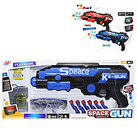 "Бластер ""Spase Gun: 2в1"", синий 918"