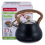 Чайник Kamille из нержавеющей стали 2,7 л (1092), фото 2