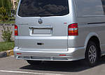 Задняя нижняя юбка ABT (под покраску) для Volkswagen T5 Transporter 2003-2010 гг.