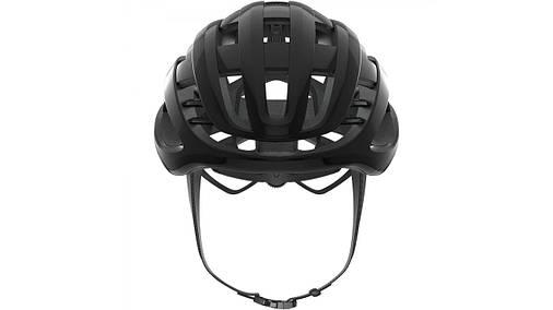 Шлем велосипедный ABUS AIRBREAKER M 52-58 Shiny Black, фото 2