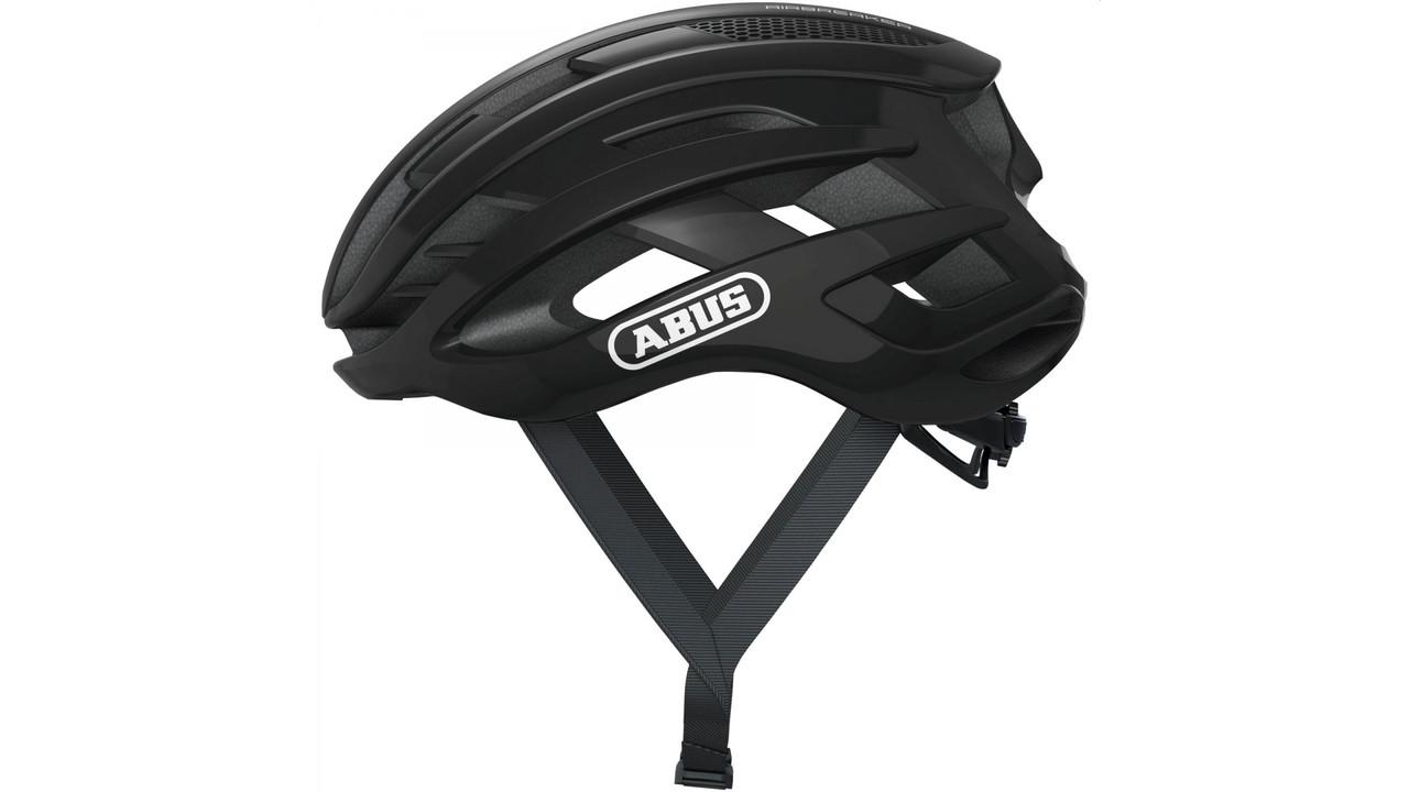 Шлем велосипедный ABUS AIRBREAKER M 52-58 Shiny Black