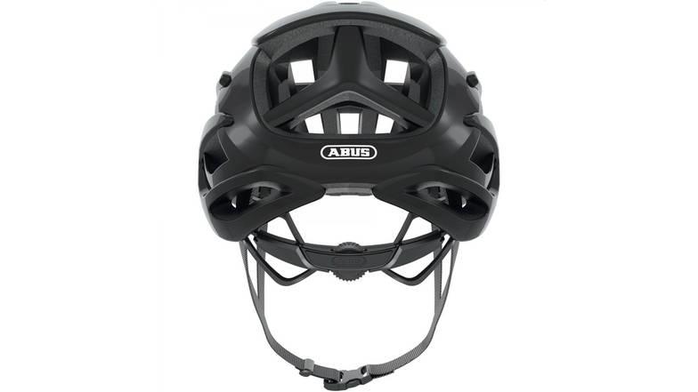 Шлем велосипедный ABUS AIRBREAKER M 52-58 Shiny Black, фото 3