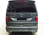Накладка на задний бампер AMG-style (под покраску) для Volkswagen T6 2015↗, 2019↗ гг.