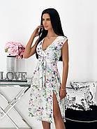 Элегантное легкое платье с разрезом, фото 2