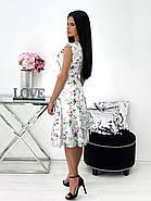 Элегантное легкое платье с разрезом, фото 3