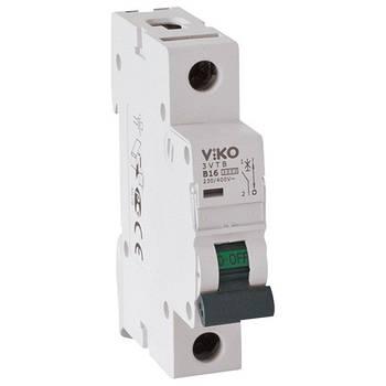 Автоматичний вимикач, 1P, хар.З, 25A, 4,5 kA 4VTB-1C25 (12)