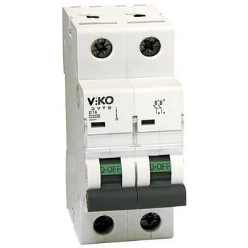 Автоматичний вимикач, 2P, хар.З, 25A, 4,5 kA 4VTB-2C25 (6)