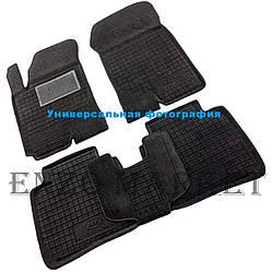Гібридні килимки в салон Renault Duster 2WD 2010-2014 (Avto-Gumm)