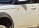 Накладки на ручки (4 шт., нерж.) для Land Rover Freelander II
