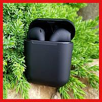 Беспроводные наушники Apple Airpods i120 Black Edition, Блютус наушники Air pods, бездротові навушники Sova