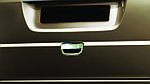Накладка на ручку задней двери (нерж.) Carmos - Турецкая сталь для Mercedes Viano 2004-2015 гг.
