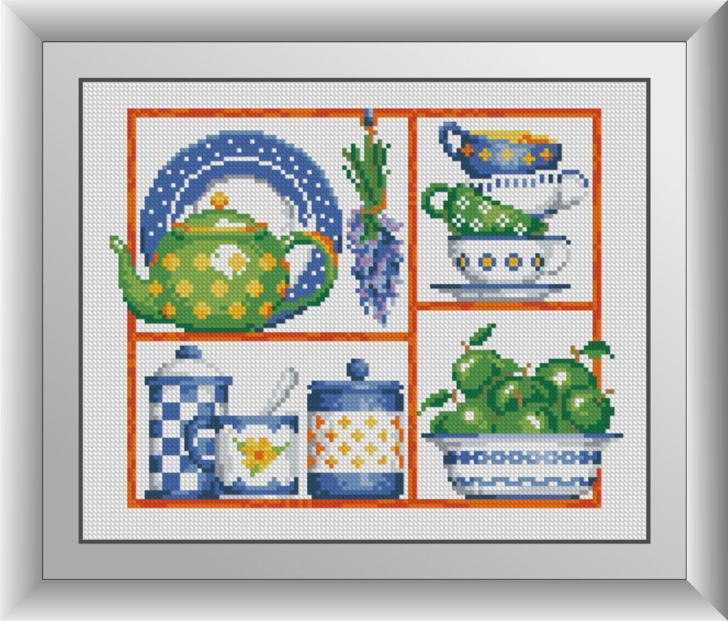 30800 Время пить чай Набор алмазной живописи
