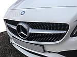 Передняя решетка Diamond Silver 2018-2021, с камерой для Mercedes C-сlass W205 2014-2021 гг.