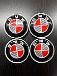 Колпачки в титановые диски V1 (4 шт) 55 мм для BMW X5 E-70 2007-2013 гг.
