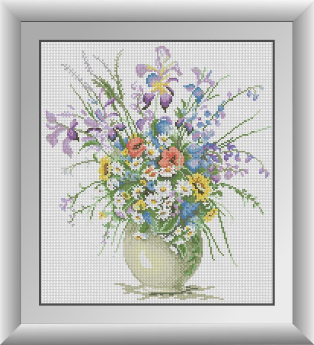 30403 Набір алмазної мозаїки Польові квіти