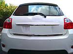Кромка багажника (нерж) для Toyota Auris (2007-2012)