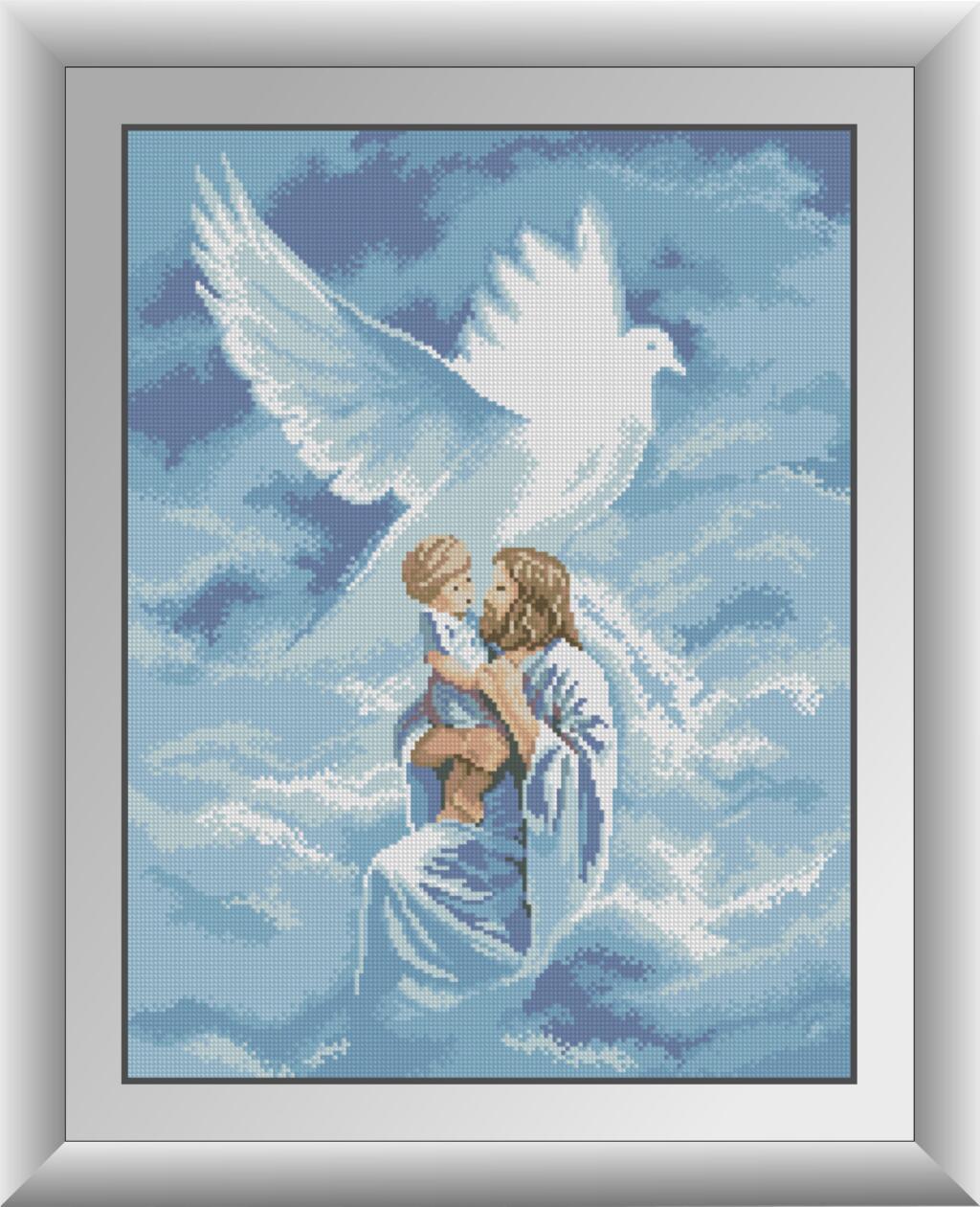 30423 Набір алмазної мозаїки Святий дух