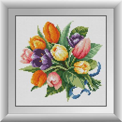 30444 Набір алмазної мозаїки Тюльпани, фото 2