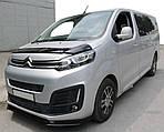 Дефлектор капота EuroCap для Peugeot Traveller 2017↗ рр.