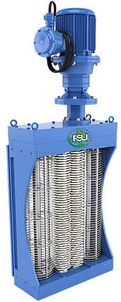 Канализационные решетки-дробилки с двумя барабанами для установки в канале до 2900 м3/час типа FSU, фото 2