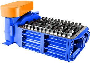 Каналізаційні решітки-дробарки з двома барабанами для установки в каналі до 2900 м3/год типу FSU, фото 2