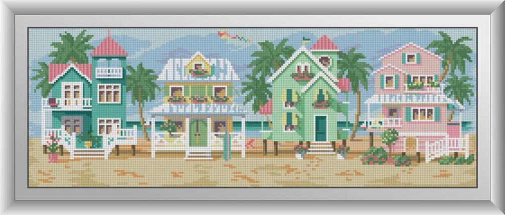 30500 Набір алмазної мозаїки Морські котеджі, фото 2