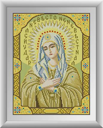 30530 Набір алмазної мозаїки Ікона Божої Матері Розчулення, фото 2