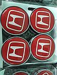 Ковпачки в титанові диски 55 мм V2 (4 шт) для Honda Pilot (2008-2015)
