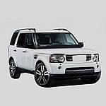 Рейлінги Оригінальна модель (чорні) для Land Rover Discovery IV