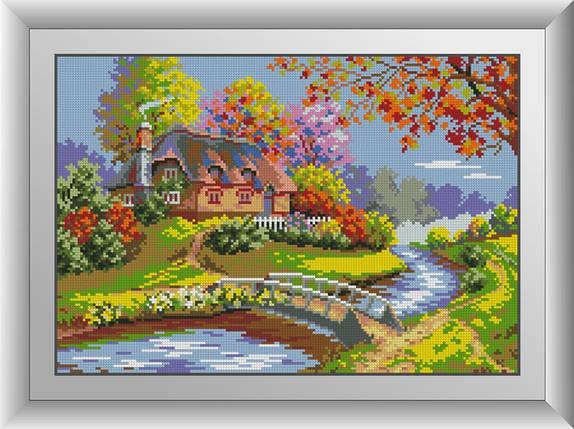 30690 Набір алмазної мозаїки Фарби осені, фото 2