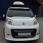 Козирок на капот (під фарбування) для Peugeot Bipper (2008↗)