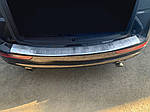 Audi Q5 2008-2017 Накладка на задній бампер OmsaLine (нерж.)