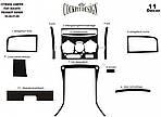 Накладки на панель (Meric, 2002-2006) Дерево для Fiat Ducato 1995-2006 гг.