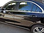 Верхняя окантовка стекол (нерж) для Mercedes C-сlass W205 2014-2021 гг.