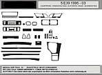 Акція! Накладки на панель під дерево для 5 серія E-39 (1996-2003)