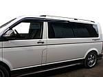 Рейлинги Skyport (серый мат) Длинная база для Volkswagen T6 2015↗, 2019↗ гг.