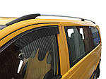 Рейлинги Хром DDU (пласт. ножки) Короткая база (SHORT) для Mercedes Viano 2004-2015 гг.