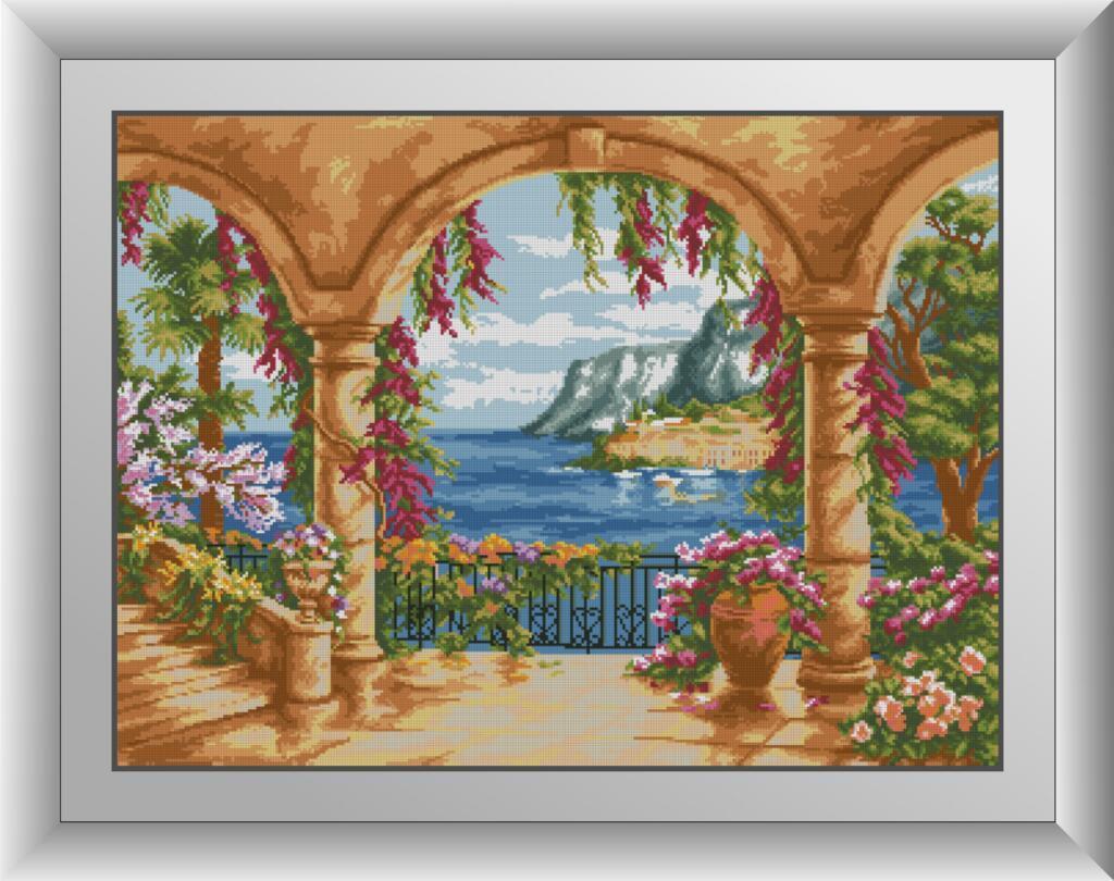 30734 Набір алмазної мозаїки Тераса біля моря