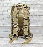 Тактичний, похідний рюкзак Military. 25 L. Камуфляжний, піксель, мілітарі. / T413, фото 5