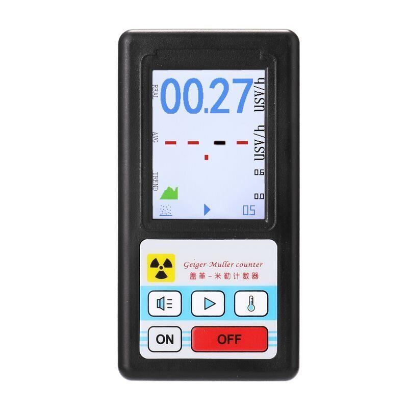 Дозиметр радіації - радіометр професійний Kailishen GB188 Чорний (100701)