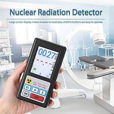 Дозиметр радіації - радіометр професійний Kailishen GB188 Чорний (100701), фото 3