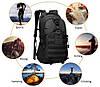 Рюкзак туристичний A19 на 25-30 л / Рюкзак похідний 800D (48х32х16 див.), фото 9